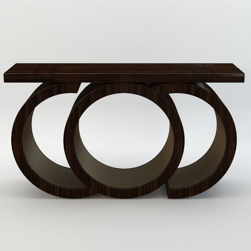 modern console table Scarsdale Modern Console Table by Davidson Scarsdale Console Table by Davidson 3