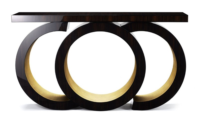 modern console table Scarsdale Modern Console Table by Davidson Scarsdale Console Table by Davidson 7