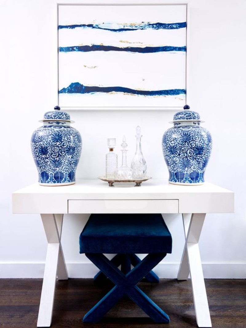 navy-blue The Best Navy-Blue Modern Console Tables Ideas The Best Blue Modern Console Tables Ideas 5