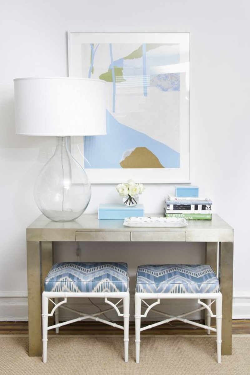 navy-blue The Best Navy-Blue Modern Console Tables Ideas The Best Blue Modern Console Tables Ideas 9