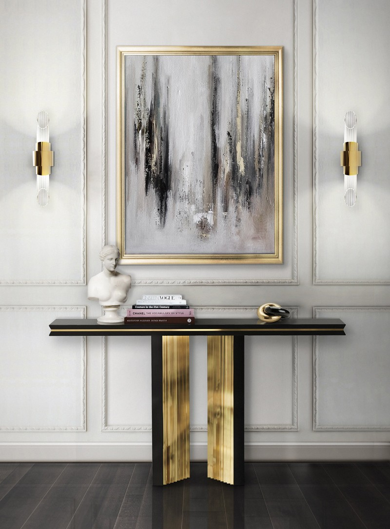 the best console table designs on pinterest. Black Bedroom Furniture Sets. Home Design Ideas