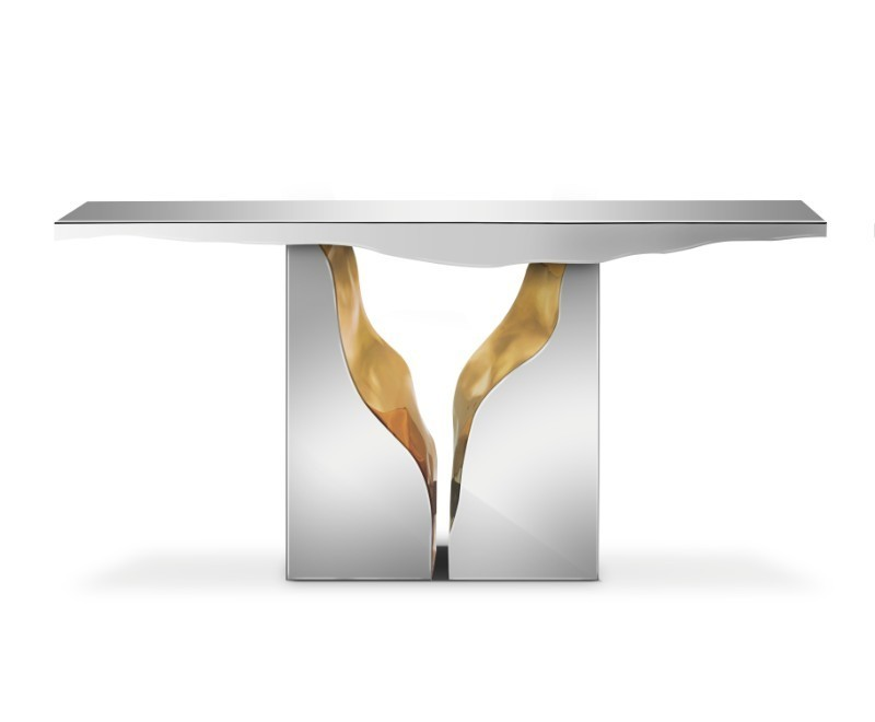 console table Summer Trends: Shining Bright Like a Console Table lapiaz console 01 2