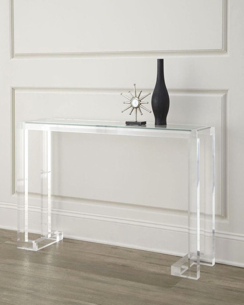 acrylic console tables Acrylic Console Tables: The Trend you need to know Acrylic Console Tables The Trend you need to know 5