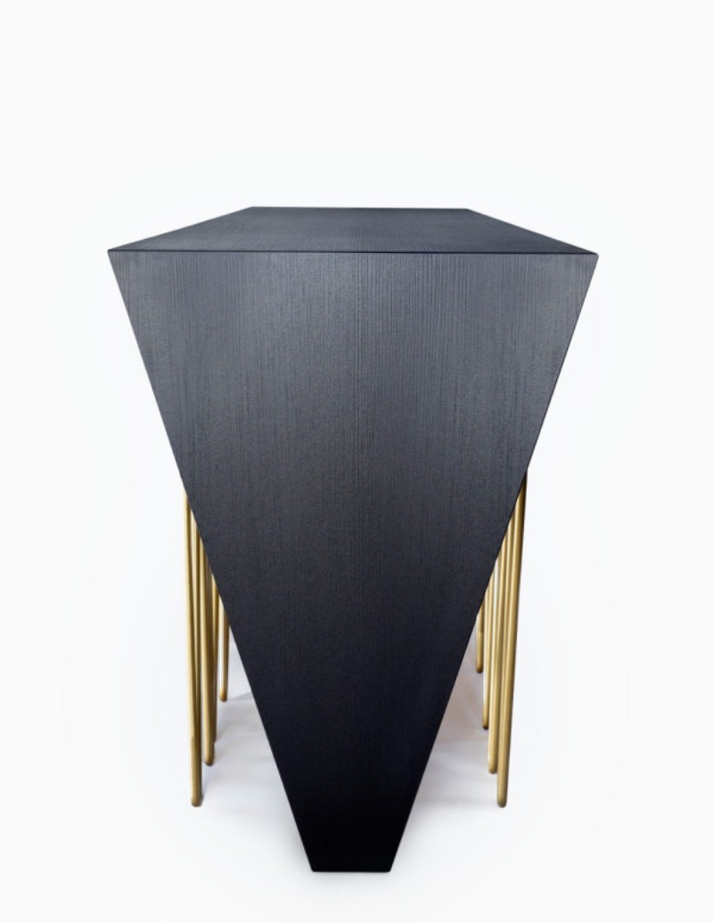 Caos Modern Console Table By Consentino and Daniel Germani Modern console table Chaos Modern Console Table By Consentino and Daniel Germani Dekton DanielGermani Chaos 5