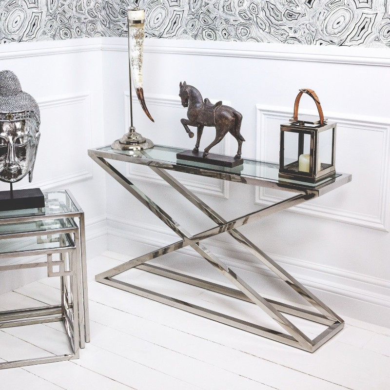 Incredible Steel Console Tables for a Luxury Home console table Incredible Steel Console Tables for a Luxury Home Incredible Steel Console Tables for a Luxury Home 3