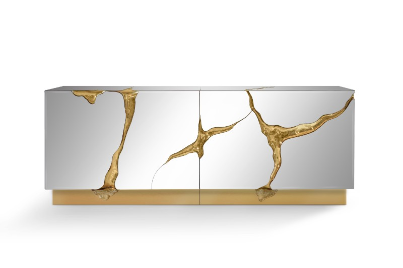 Mirrored Console Tables And Sideboards You'll Love mirrored console tables Mirrored Console Tables And Sideboards You'll Love Lapiaz Sideboard by Boca Do Lobo