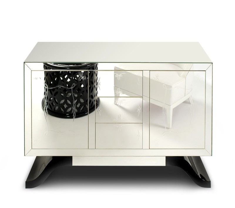 Mirrored Console Tables And Sideboards You'll Love mirrored console tables Mirrored Console Tables And Sideboards You'll Love Metropolitan Console by Boca Do Lobo
