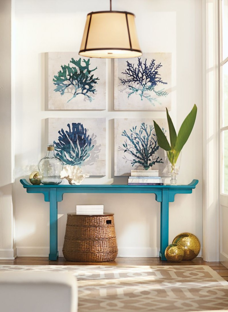 Outstanding Wall Painting Ideas To Stand Above A Console Table wall painting Outstanding Wall Painting Ideas To Stand Above A Console Table Outstanding Wall Painting Ideas To Stand Above A Console Table 1