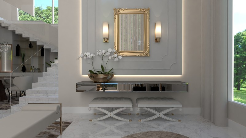 modern console tables modern console tables The Best Modern Console Tables for a Luxury Entryway The Best Modern Console Tables for a Luxury Entryway 8
