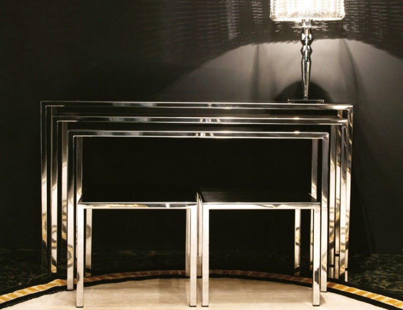 Top 10 Modern Silver Console Tables silver console tables Top 10 Modern Silver Console Tables Top 10 Silver Modern Console Tables 7