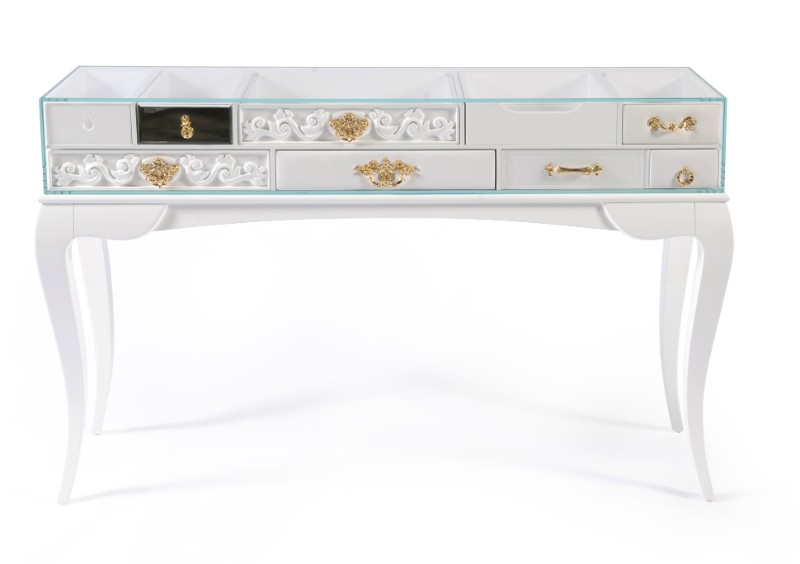 console table Spice Up Your Console Table Decor With Houseplants York White Console by Boca do Lobo