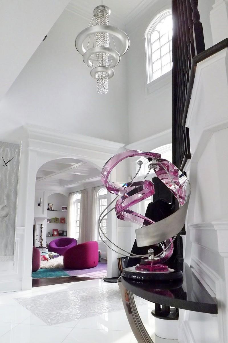 entryway decor ideas 10 Entryway Decor Ideas With Dramatic Lighting mark p finlay interiors 1525111363
