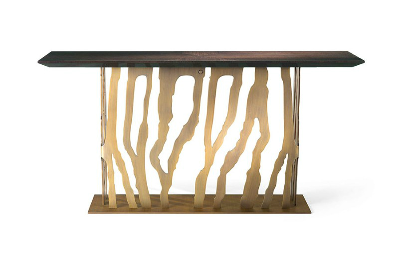 modern console table Modern Console Tables by Roberto Cavalli Console Tables by Roberto Cavalli 8