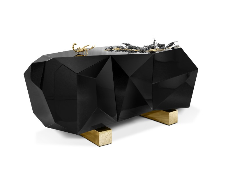 8 Best Metal Console Tables for your Home metal console tables 8 Best Metal Console Tables for your Home Diamond Metamorphosis by Boca Do Lobo