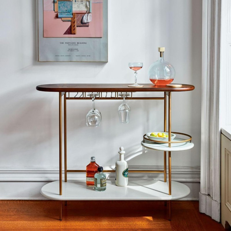 Discover These Ideas to Turn your Console Table into a Bar bar Discover These Ideas to Turn your Console Table into a Bar Discover These Ideas to Turn your Console Table into a Bar 1