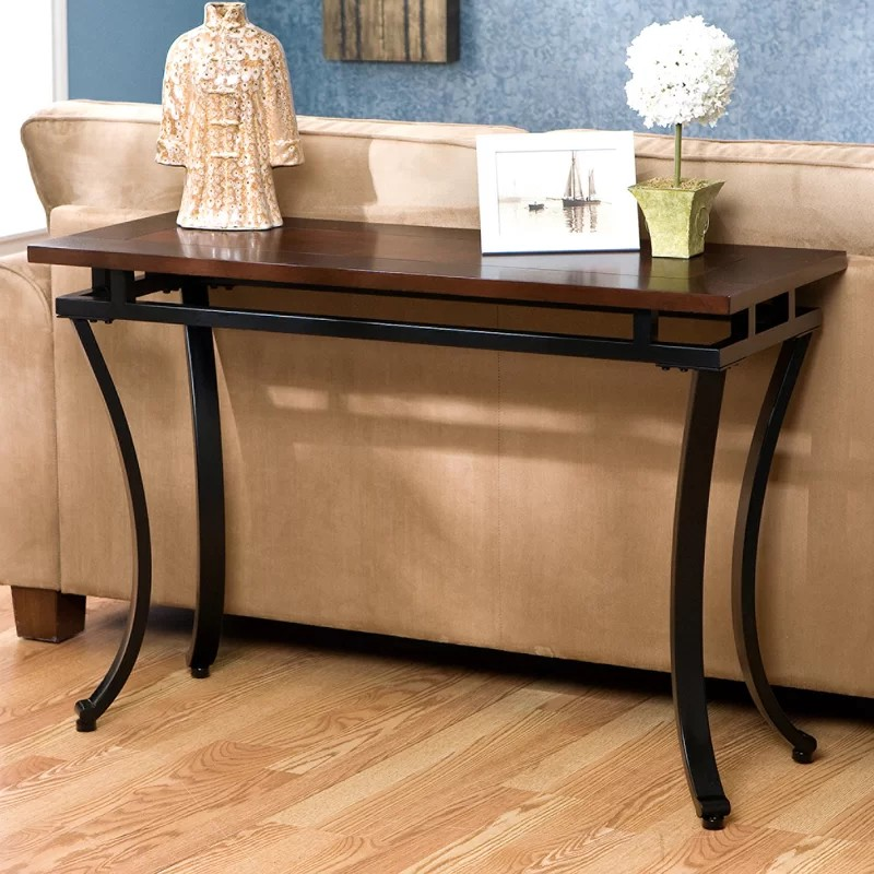 rustic console tables Rustic Console Tables that never Passed Out of Fashion EdisonConsoleTable