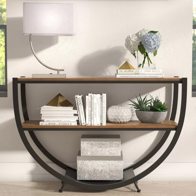 Rustic Console Tables that never Passed Out of Fashion rustic console tables Rustic Console Tables that never Passed Out of Fashion GoodlowConsoleTable