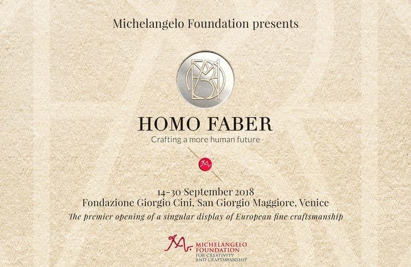 homo faber Homo Faber: Boosting European Craftsmanship Homo Faber Boosting European Craftsmanship 4