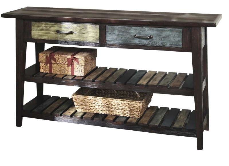 Rustic Console Tables that never Passed Out of Fashion rustic console tables Rustic Console Tables that never Passed Out of Fashion LexingtonConsoleTable