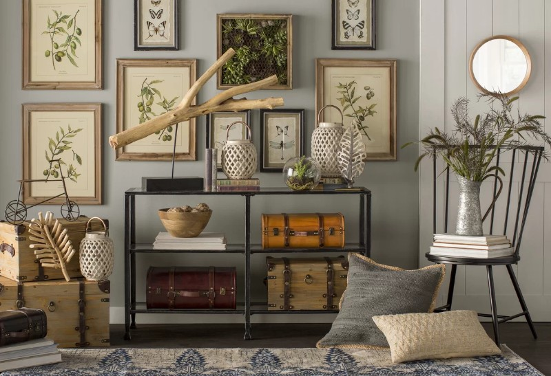 rustic console tables Rustic Console Tables that never Passed Out of Fashion RebaConsoleTable 1
