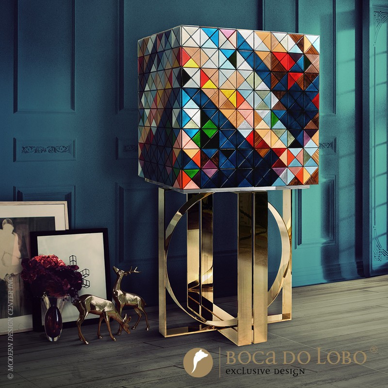 luxury furniture Design China Beijing 2018 – The Top Exhibitors of Luxury Furniture Pixel Cabinet by Boca do Lobo
