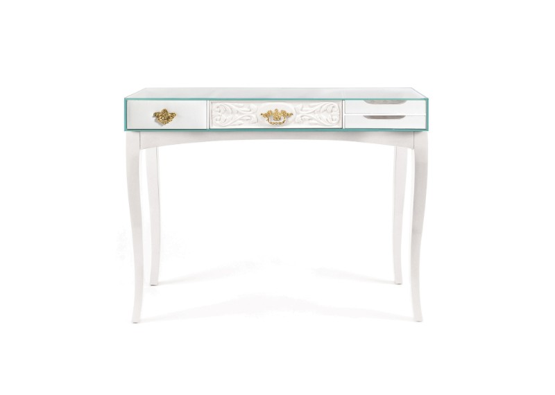 vintage console tables Discover 10 Vintage Console Tables Soho White Console Table by Boca do Lobo 2