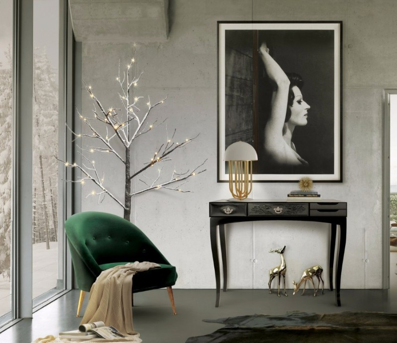 black console tables Luxury Black Console Tables For A Modern Living Room York Console Table by Boca do Lobo