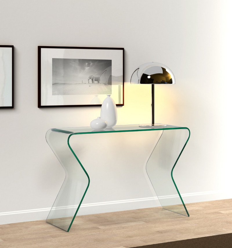 console tables 10 Glass Minimalist Console Tables for Modern Entryway 10glassminimalistconsoletables 10
