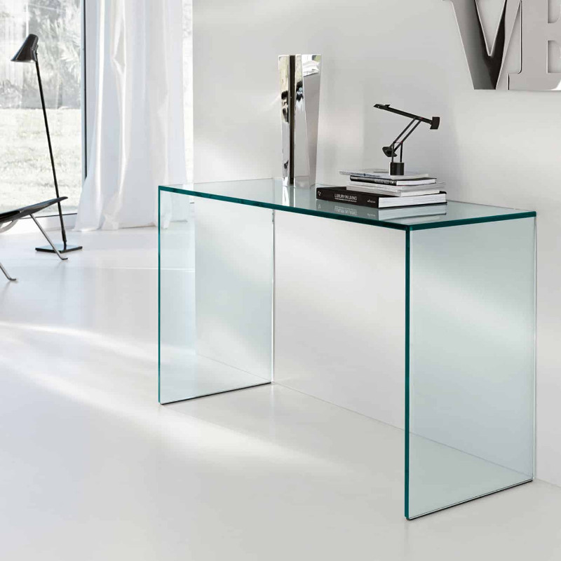 console tables 10 Glass Minimalist Console Tables for Modern Entryway 10glassminimalistconsoletables 2