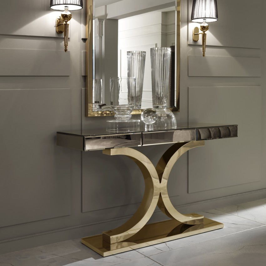 room design The Most Stunning Glass Console Tables For a Contemporary Room Design The most stunning Glass Console Tables For a Contemporary Room Design