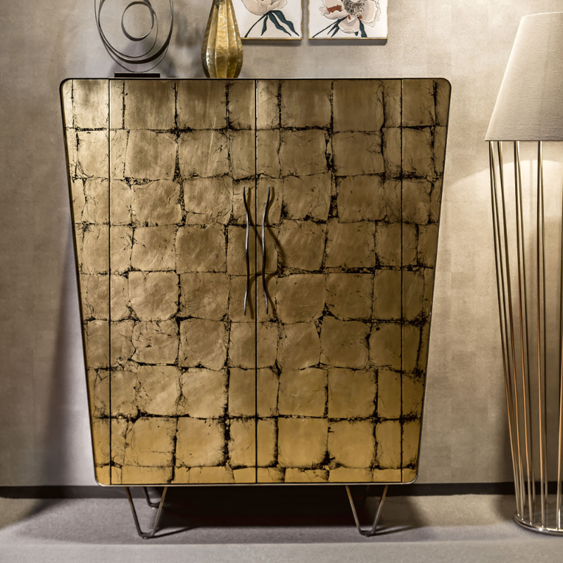 Leaf, Gilding, gold leaf, gold, luxury furniture, craftsmenship, techniques, console tables, living room, modern console tables, design ideas, exclusive brand, exclusive design, jewel, luxury furniture