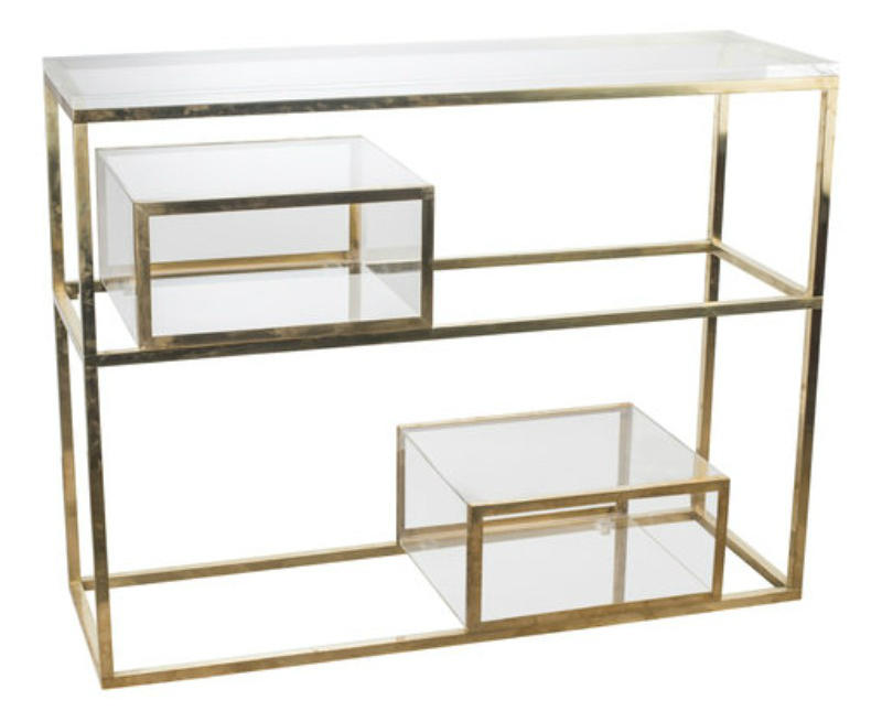 modern console tables, interior design, design ideas, luxury brand, modern furniture, luxury brand, project, masterpiece, glass table, console table interior design These Glass Consoles Will Reach The Apogee of Your Interior Design Selezioni Domus Firenze Artemest 1