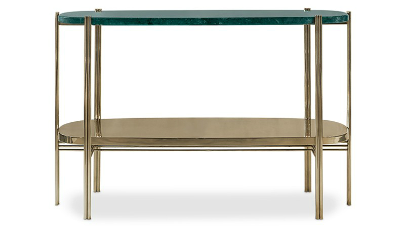 console table 10 Slender And Elegant Console Tables for Small Spaces craig console essential home