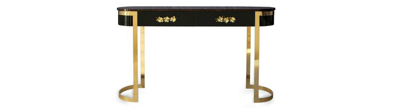 console table 10 Slender And Elegant Console Tables for Small Spaces orchidea console KOKET 1