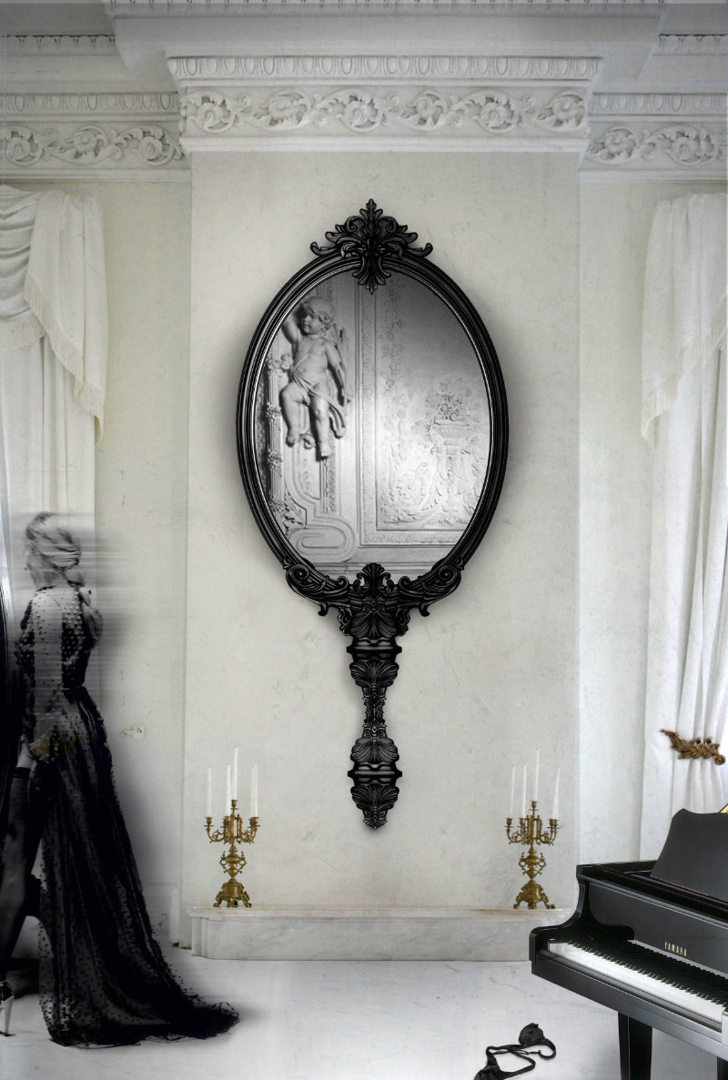 wall mirror How a Wall Mirror Can Bring a Glamorous touch to Your Console Table pic2