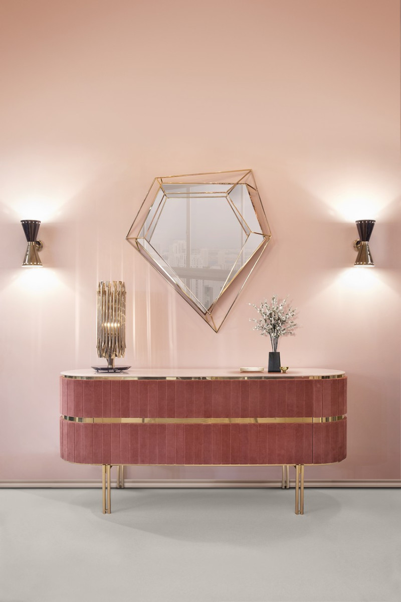 wall mirror How a Wall Mirror Can Bring a Glamorous touch to Your Console Table pic8