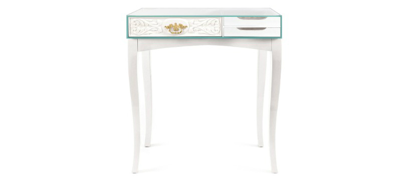 console table Charming Console Table Ideas with Navy and White Inlay slide soho console BL