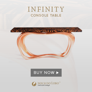Infinity Console Table Boca do Lobo modern console tables Modern Console Tables bl imperfection consoletable