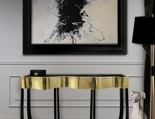 luxury interior design projects Modern Consoles for your Luxury Interior Design Projects sinuous 1 600x460