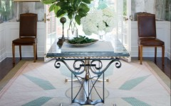 gorgeous console tables gorgeous console tables 10 Gorgeous Console Tables for A Summer Décor Blue metal console e1459269023427 240x150