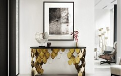 Entry tables for a Modern Home Design