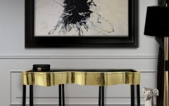 modern console table Modern Console Table Design for a Living room Entry tables for a Modern Home Design 4 240x150