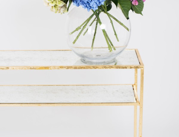 aged mirror console table 7 Inspiring Aged Mirror Console Table Designs ruthjoanna gazelle console table 600x460