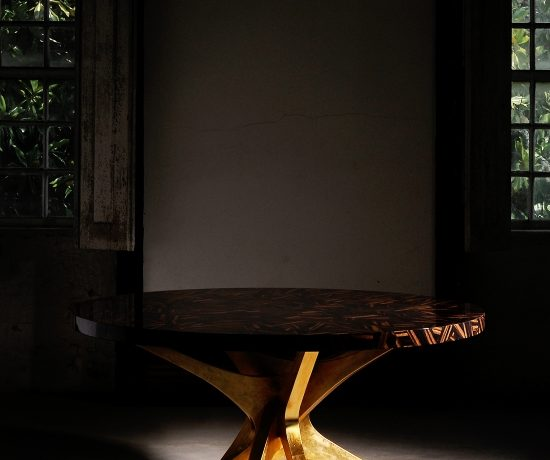 Patchwork Console Tables