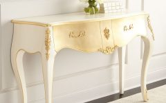 console tables in metal leaf 9 Inspiring Console Tables in Metal Leaf Parisian Console 240x150