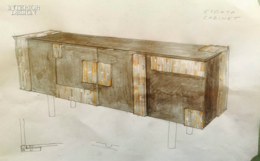 Tuell and Reynolds new Modern Console Table Design