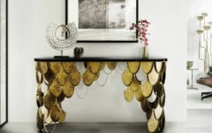console table Get inspired with Striking Console Tables for your Entry Hall capa brabbu ambience KOI 55 HR 240x150
