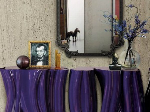 console table designs console table designs Perfect match: mirrors and console table designs 000 4 600x451