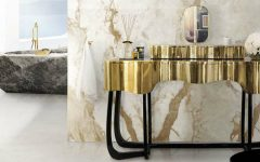 master bathroom Modern Console Tables for a Luxury Master Bathroom 000 5 240x150