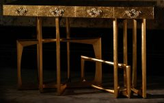 golden console tables 15 Jaw-Droping Golden Console Tables 000 2 240x150